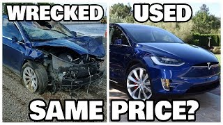 Why Buying a salvage Tesla model X doesn't make any sense