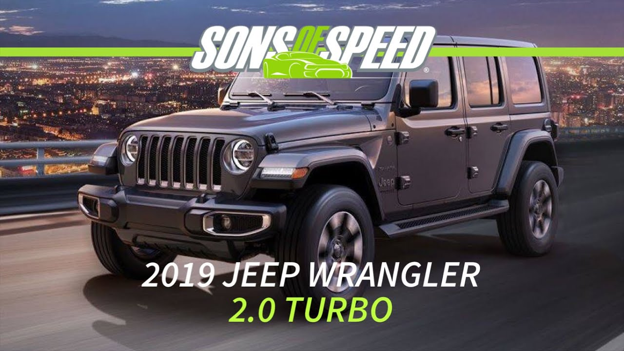 Driving The 2019 Jeep Wrangler 2 0 Turbo Sons Of Sd