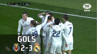 Gols - Villarreal 2 x 3 Real Madrid - La Liga 16-17