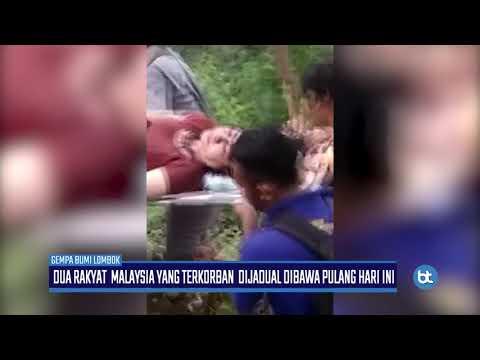 GEMPALOMBOK   Rakyat MalaysiaTerkorban Dijadual Dibawa Pulang Hari Ini