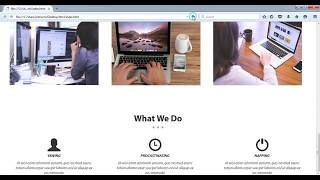 How to create a Company or Business Website in onepage using Html and Css Part-4 Mp3