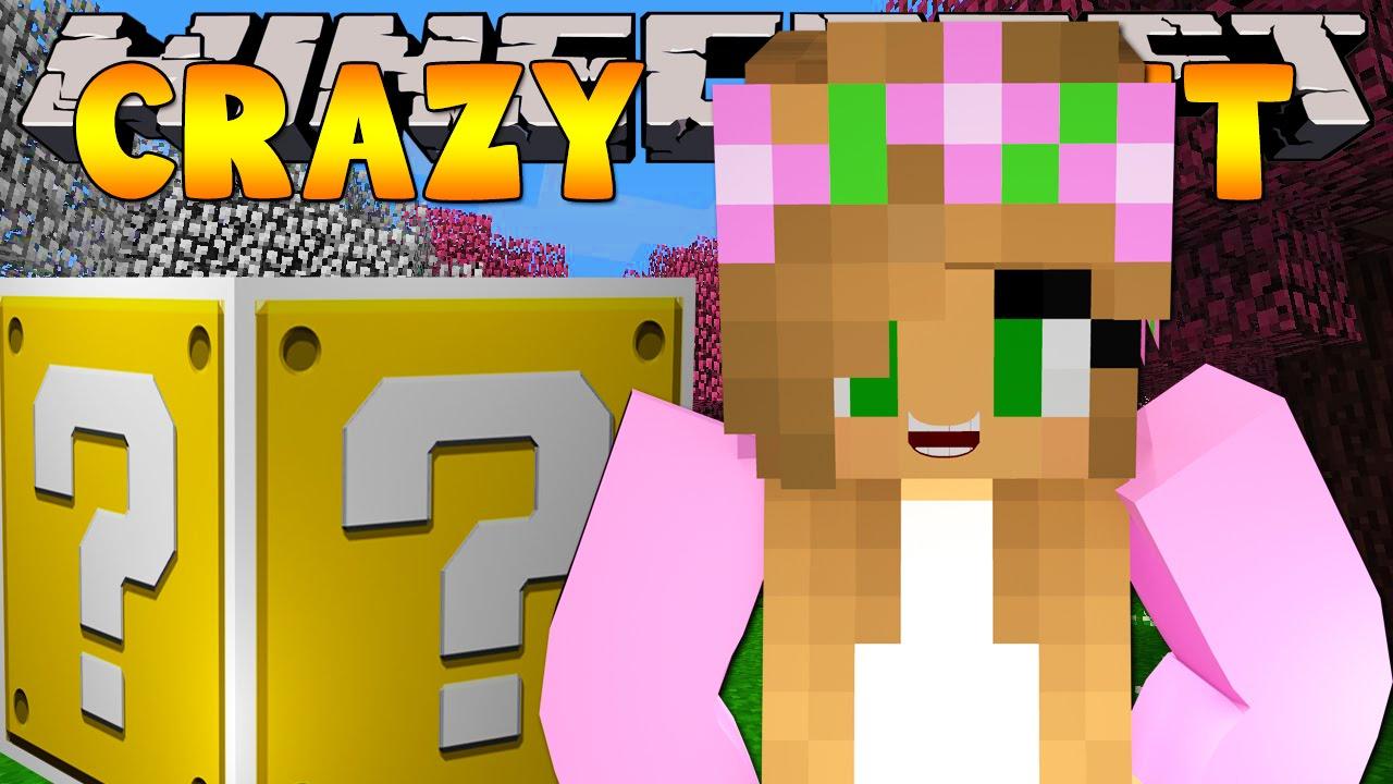 Minecraft crazy craft 3 0 lucky block madness 14 for Http test voidswrath com modpacks crazy craft 3 0