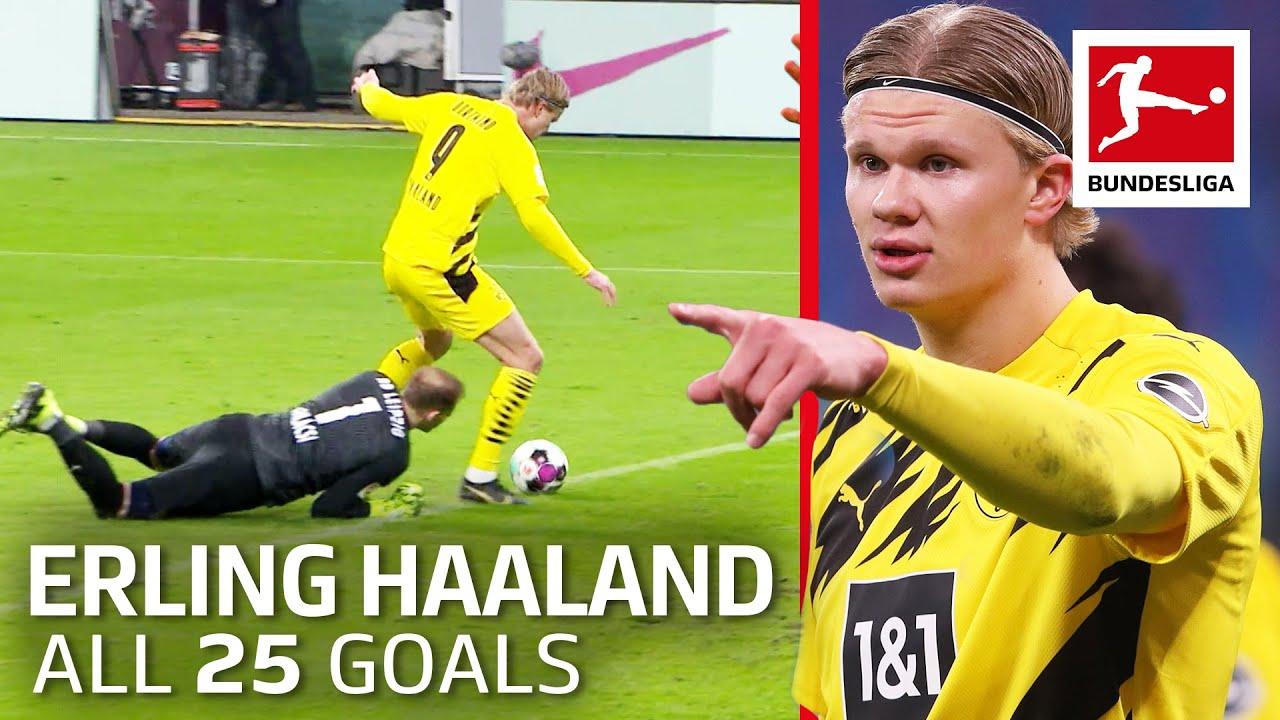 Erling Haaland - 25 Goals in 25 Games