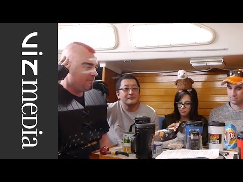 Shonen Jump Podcast on a boat - Episode 104