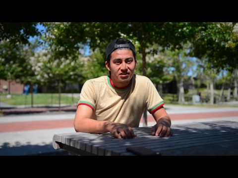 Carlos, ESL Student at Foothill College