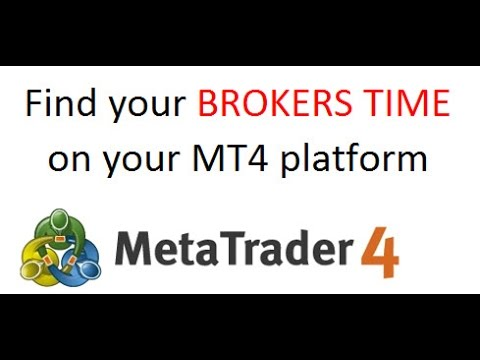 How To Find Your Mt4 Broker Server Time Or Timezone Used On Your