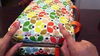 Orla Kiely Weekender Bag for Planner Storage Thumbnail