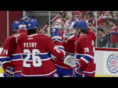 NHL® 17 Weber Canadiens scores OT winner against Nashville Predators