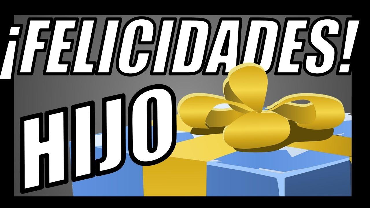 TARJETAS de CUMPLEAÑOS para un HIJO - [MUY QUERIDO y ESPECIAL] 🎂 - YouTube