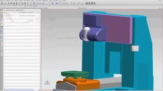 NX CAM. Создание кинематической модели станка NX8.5