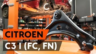 Come sostituire braccio oscillante anteriore su CITROEN C3 1 (FC, FN) [VIDEO TUTORIAL DI AUTODOC]