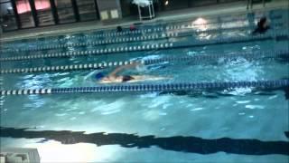 游泳练习--自由泳 / 2014/12/14