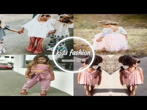Latest Summer Fashion Trends 2018 For little Girls