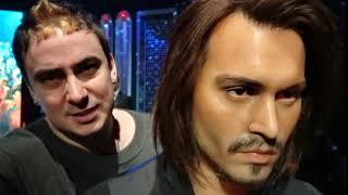 The Johnny Depp Wax Figure In Las Vegas Is Very Realistic