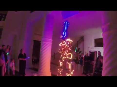 LED ROBOT WEDDING