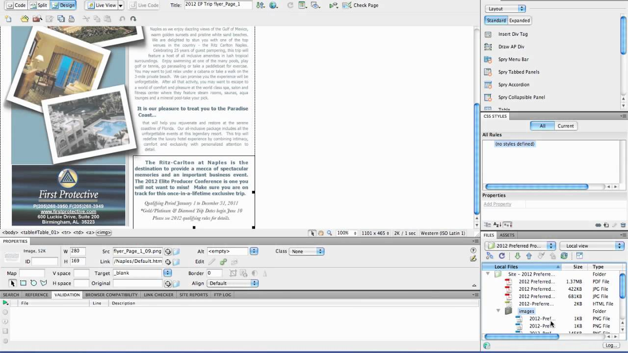 I have managed to begin designing my email so far using the 'responsive' email template. Create Html Email Part 4 Using Dreamweaver To Clean And Refine Html Youtube