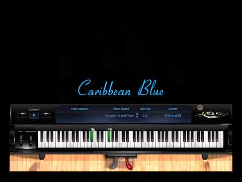 Enya - Caribbean Blue - Piano Cover