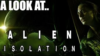 Alien Isolation PC Gameplay Opinion & First Impressions Review Part 1 1080P Max Settings