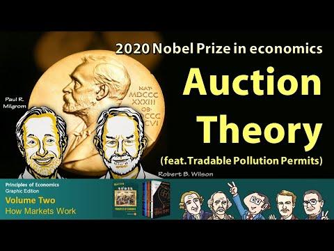 2020 Nobel Prize in economics `Auction Theory` [Principles of Economics Graphic Edition]