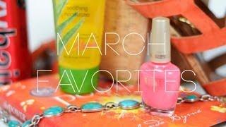 Katie's March Favorites Thumbnail