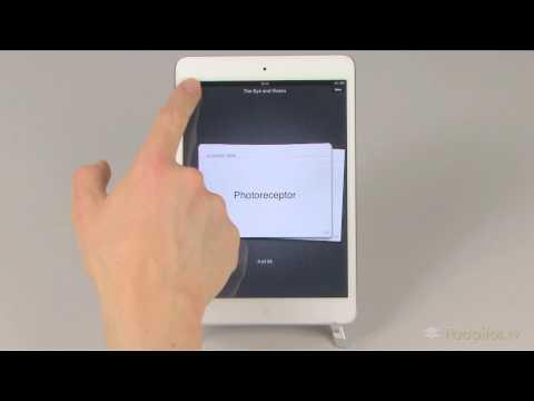 Padpilot HD for iBooks - Study Card Facility