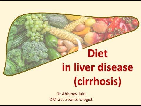 Diet Advice For Liver Disease (cirrhosis)
