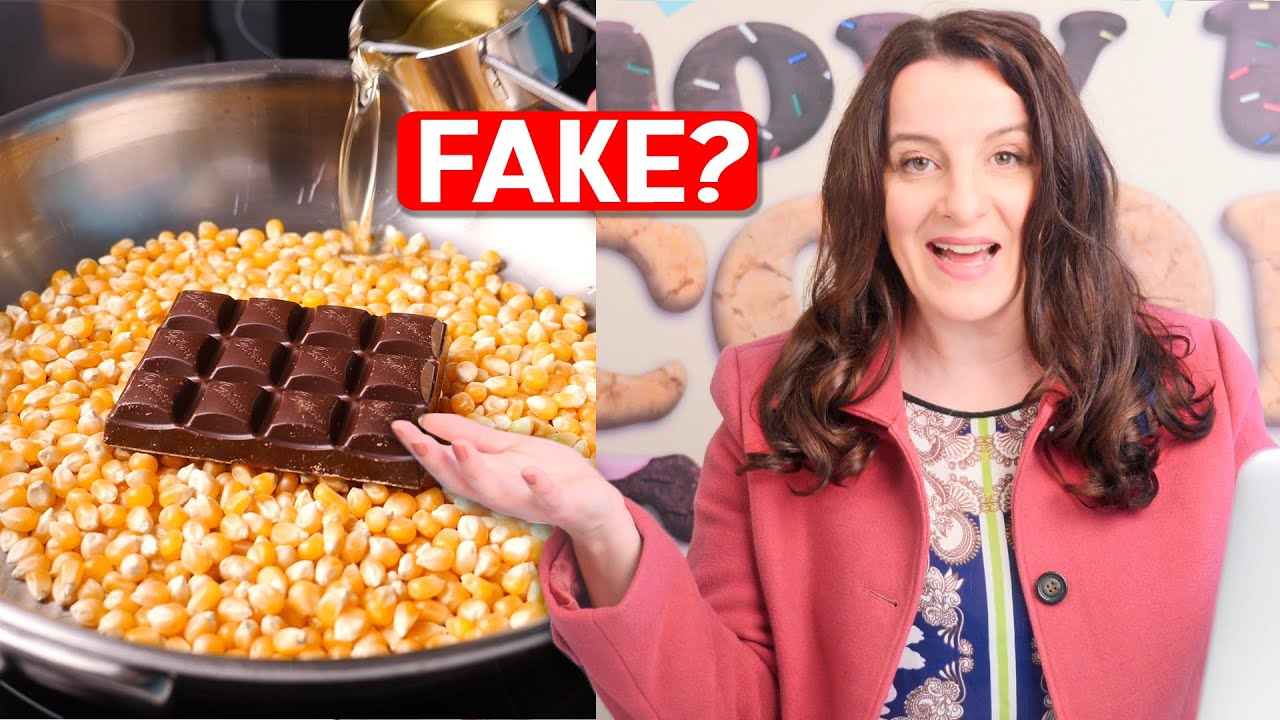"NEW Debunking ""Organic Food"" Viral Videos | How To Cook That Ann Reardon"