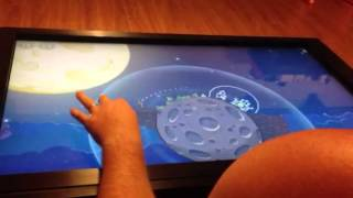 Windows 8 On Coffee Table With Multitouch