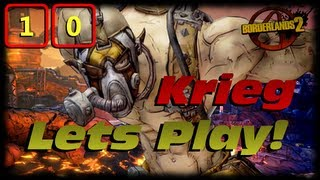 Borderlands 2 Krieg Lets Play Ep 10! Doc Mercy Side Mission Quest Line, Trying For An Infinity!