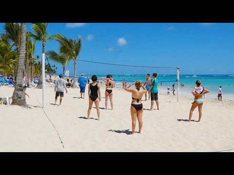 Beach and Ocean in Punta Cana Dominican Republic vacation not in 2021