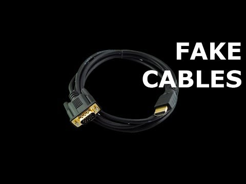 Would A Vga To Hdmi Cable Work: Don7t Buy This! Fake HDMI to VGA Cables DVI Cables 7SATA III rh:youtube.com,Design