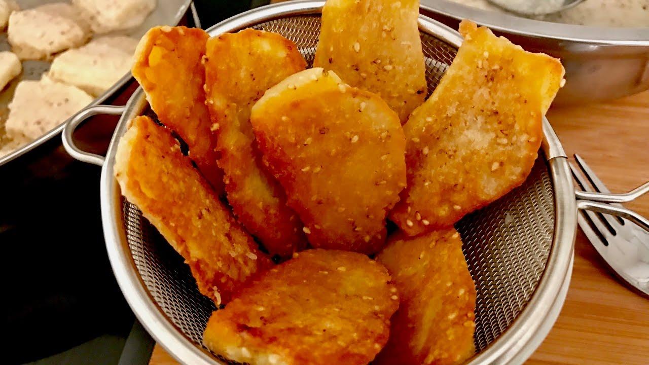 Fried Bananas--A Simple Thai Street Dessert - YouTube
