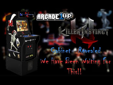 Killer Instinct Arcade1up Cabinet Revealed!! from MadDadsGaming