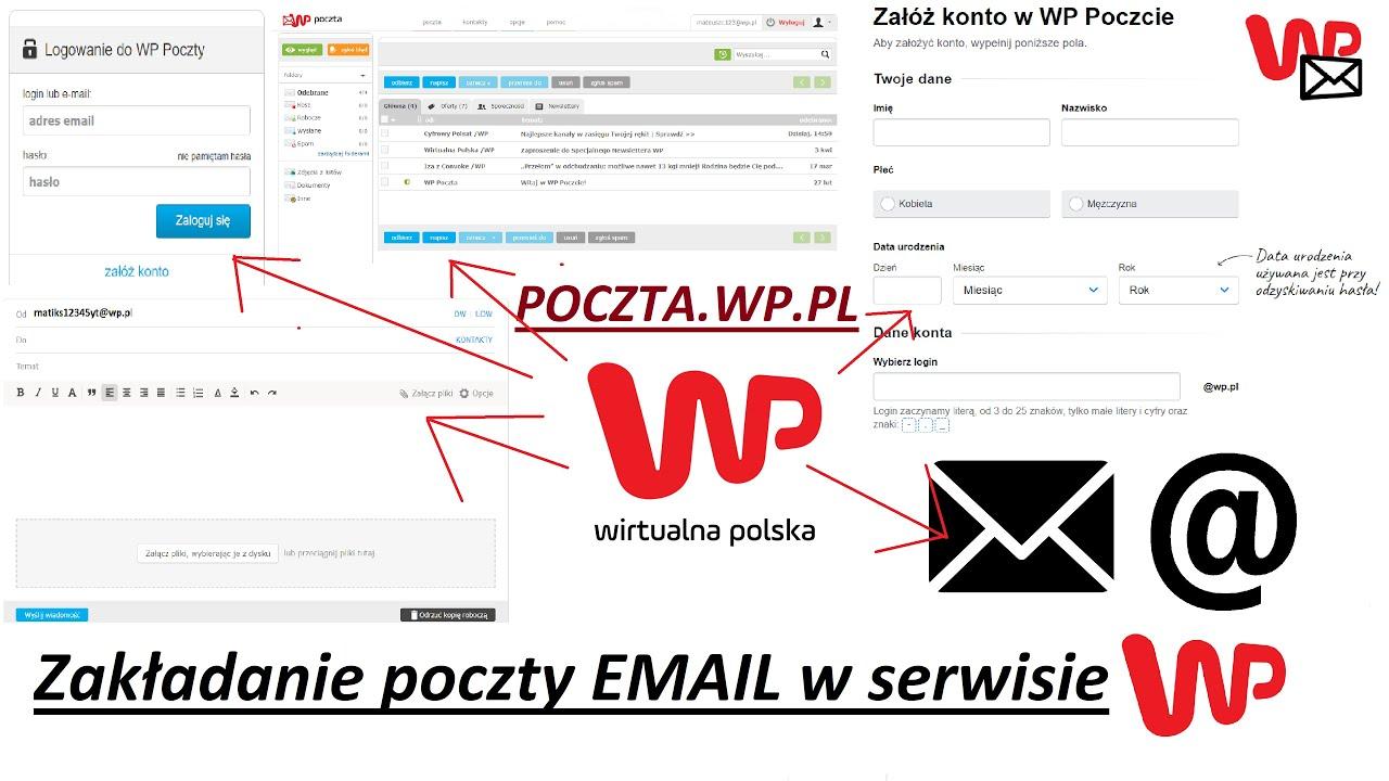 Poczty wp pl logowanie Poczta WP