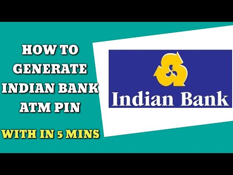 indian bank new atm card activation tamil