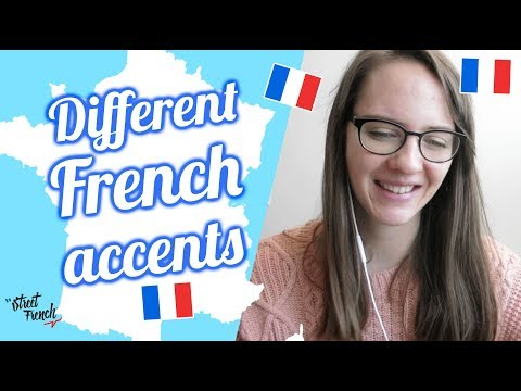 DIFFERENT FRENCH ACCENTS W/ French Native Speaker