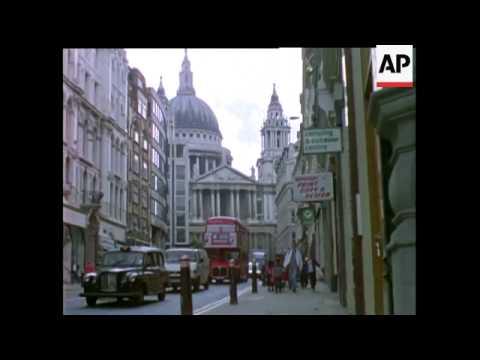 MOVIETONE LONDON STOCK SHOTS 1994