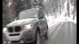 BMW X3 - зимняя резина против летней