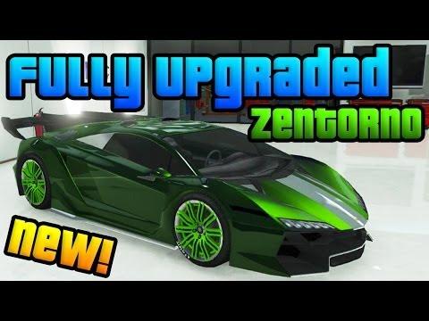 GTA Online: New High Life DLC Super Car! - Fully Upgraded Pegassi Zentorno (GTA V High Life DLC)