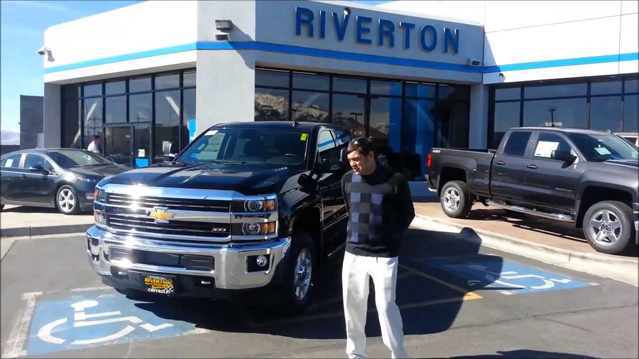 2015 Silverado HD 3500 Duramax Diesel Review & Walk Around - New 2015 Chevy  HD Duramax Video