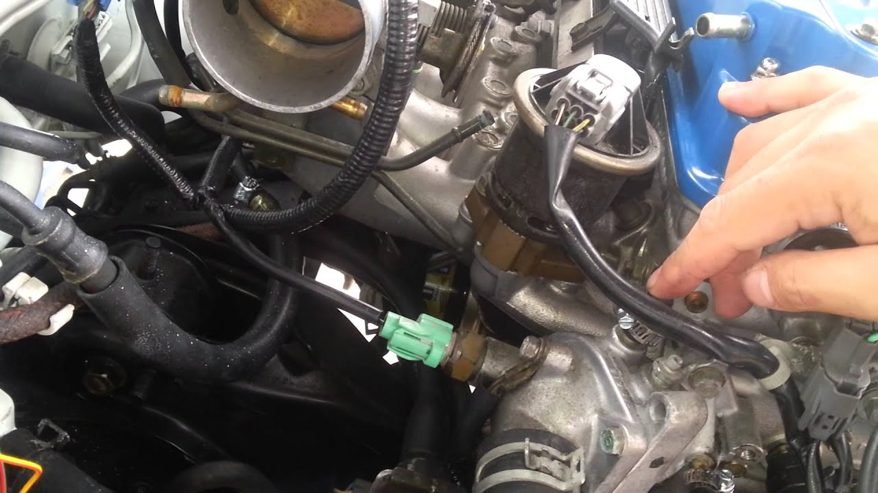 90 91 92 93 honda accord cb7 jdm h22a h23a engine install part 2 rh youtube com