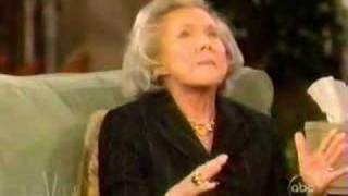 Nellie Connally on the View in 2003. Part 1 of 2 parts.