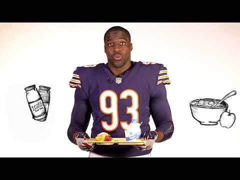 Sam Acho for Fuel Up to Play 60: Breakfast