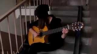 Испанка   на классической гитаре