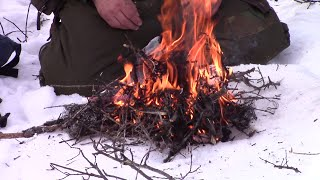 Emergency Survival Fire Starting Tip
