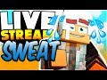 Hypixel Bed Wars | Sweating in Minecraft | Live Stream