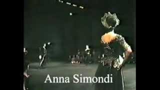 Anna Simondi   Solo Tarantella aus Schwanensee 1989
