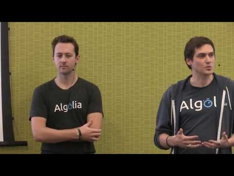How to build a search-as-you-type application in under 15mn with Algolia - Tim Carry & Alex Collin