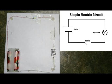 how to make an electric circuit for science project youtube rh youtube com