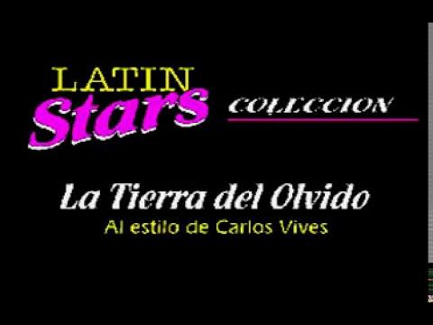 La tierra del olvido - Carlos Vives (Karaoke)